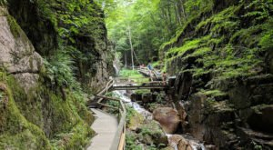 Franconia Notch Is The Single Best State Park In New Hampshire And It's Just Waiting To Be Explored