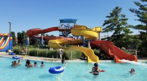 With Its 200-Foot Slides, Flash Flood Water Park In Michigan Is The Ultimate Spot To Cool Off