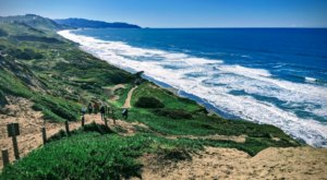 Hike Down Dutch Sand Ladders To Reach The Beach On The Fort Funston Coastal Trail In Northern California
