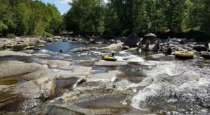 Make Your Summer Epic With A Visit To Cascade Falls, A Hidden New Hampshire Water Park
