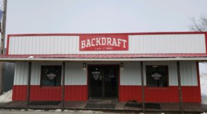 Get A Taste Of Traditional BBQ In Small Town North Dakota At BackDraft Cafe And BBQ