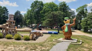 Hocking Hills Jellystone Park May Just Be The Disneyland Of Ohio Campgrounds