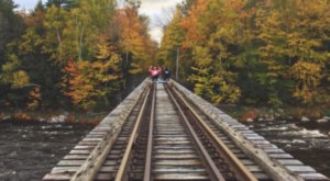 You Can Now Pedal Down An Abandoned Railway To See New Jersey Like You've Never Seen It Before
