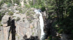 See One Of The Tallest Waterfalls In Wyoming At Bighorn National Forest