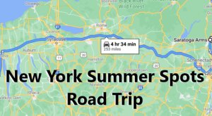 Drive To 5 Incredible Summer Spots Throughout New York On This Scenic Weekend Road Trip