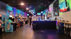 Travel Back In Time When You Visit FlashBack RetroPub, An Arcade Bar In Oklahoma