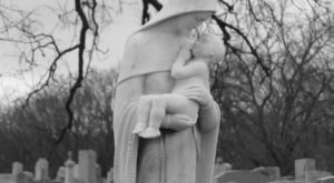 Hunt For Wayward Spirits At Indiana's Spooky Bridgewater Cemetery