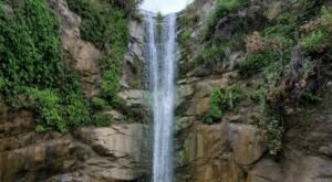 Take A Magical Waterfall Hike In Southern California To Trail Canyon Falls, If You Can Find It