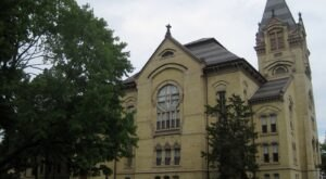 This Indiana College Campus Was Named One Of The Top 10 Most Haunted Colleges In America