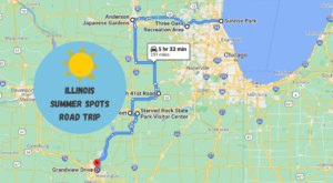 Drive To 7 Incredible Summer Spots Throughout Illinois On This Scenic Weekend Road Trip