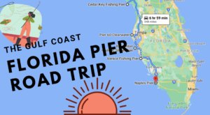 Take This Summer Road Trip To Some Of The Most Jaw-Dropping Piers On Florida's Gulf Coast