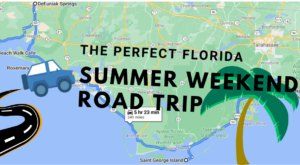 Drive To 6 Incredible Summer Spots Throughout Florida On This Scenic Weekend Road Trip