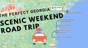 Drive To 6 Incredible Summer Spots Throughout Georgia On This Scenic Weekend Road Trip
