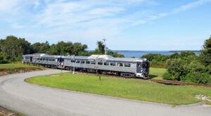 See The Most Exquisite Rhode Island Scenery On Newport & Narragansett Bay Railroad's New Aquidneck Island Train Rides