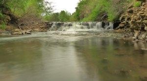 Visit Briggs Woods Park In Iowa, A Hidden Gem Beach That Has Its Very Own Waterfall