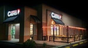 Indulge In All Sorts Of Delicious Stuffed Crepes At Crepella Crepes & Waffles Café In Arizona