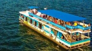 Enjoy Unlimited Mimosas & Brunch On Margaritaville Lanier Islands Cruise In Georgia
