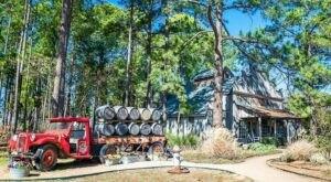 Enjoy Fresh Texas Peaches At Das Peach Haus, An Unassuming Roadside Market In The Heart Of The Hill Country