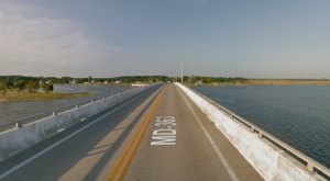 Hop In Your Car And Take Deal Island Road For An Incredible 18-Mile Scenic Drive In Maryland