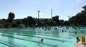 Make A Splash This Summer At Deep Eddy Pool, A Spring-Fed Oasis In Texas