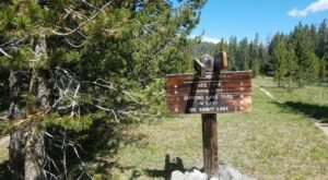 Wyoming's Diamond Lake Trail Leads To A Magnificent Hidden Oasis