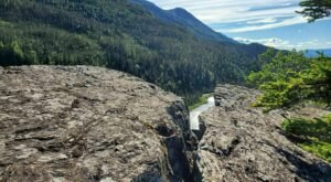 Hike Above The Spruce Tree Forest To See This Waterfall Up Close When You Take The Liberty Falls Hike