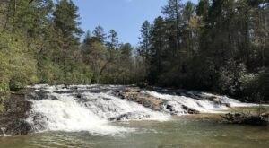 Hike To An Emerald Lagoon In South Carolina On The 0.9-Mile Lands Bridge Falls Trail