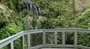 Hike Less Than A Mile To This Spectacular Waterfall Observation Deck In Florida