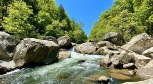 Hike The Green River Narrows Trail In North Carolina For A Scenic Waterfall And River Experience You Need