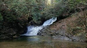 Hike Less Than Half A Mile To This Spectacular Waterfall Swimming Hole In Georgia