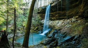Hike Less Than One Mile To This Spectacular Waterfall In Alabama