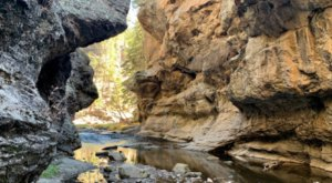 This Easy 2.2-Mile Hike Will Take You To A Remote Slot Canyon In New Mexico