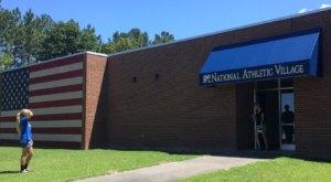 You Can Play Human Foosball At The National Athletic Village In North Carolina
