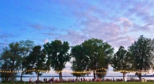 Toast The Sunset At Olbrich Beer Garden, A Park With The Best Brews And Views In Madison