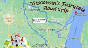 The Fairytale Road Trip That'll Lead You To Some Of Wisconsin's Most Magical Places