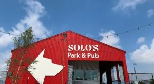 Spend The Day With Fido And Friends At Solo's Park & Pub In Oklahoma, A Dog Park And Restaurant All In One