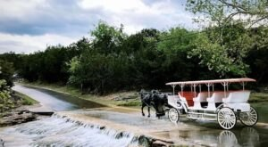 Take A Carriage Ride And Spend The Day At Turner Falls In Oklahoma For An Unforgettable Experience