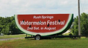 Don't Miss The 76th Annual Rush Springs Watermelon Festival In Oklahoma