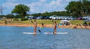 The Best Campsite In Oklahoma Can Be Found At Yogi Bear's Jellystone Park At Keystone Lake