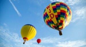 Hot Air Balloons Will Be Soaring At Oklahoma's FireLake Fireflight Balloon Festival