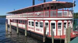 Take A Ride On This One-Of-A-Kind Paddle Boat In Maine