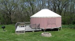 For Just $70 A Night, You Can Stay In A Yurt At Pammel Park In Iowa