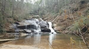 Visit Panther Creek Recreation Area In Georgia, A Hidden Gem Beach That Has Its Very Own Waterfall