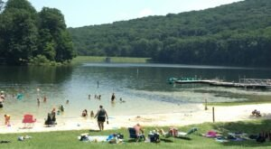 Visit Cunningham Falls State Park in Maryland, A Hidden Gem Beach With A Nearby Waterfall