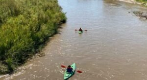 This 5-Mile Float Trip In Kansas Will Take You Along One Of The Prettiest Stretches Of the Arkansas River