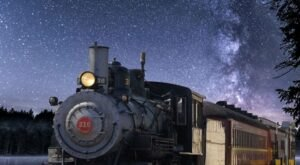 The Moonlit Wine Train On The Texas State Railroad Will Give You An Evening To Remember