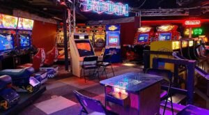 Travel Back To Your Childhood At Free Play Bar And Arcade, An Adult Arcade In Rhode Island
