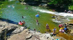 Turkey Creek Nature Preserve Is A Natural Waterpark In Alabama That's The Perfect Place To Spend A Summer Day