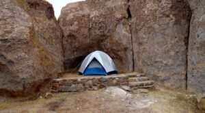Sleep Next To 40-Foot-Tall Rocks When Camping At City Of Rocks State Park In New Mexico