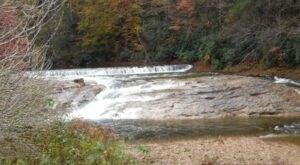 Visit Rudolph Falls In West Virginia, A Hidden Gem Beach That Has Its Very Own Waterfall